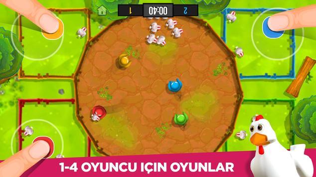 Stickman Partisi: 1-4 Oyunculu Oyunlar Ekran Görüntüsü 1