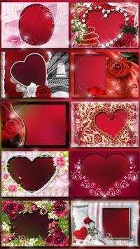 Molduras para Fotos Amor 💕 Colagem Romantica imagem de tela 5