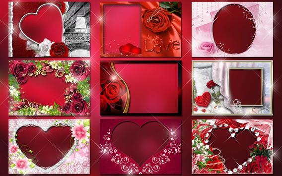 Molduras para Fotos Amor 💕 Colagem Romantica imagem de tela 8