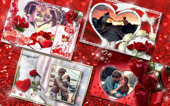Molduras para Fotos Amor 💕 Colagem Romantica imagem de tela 10