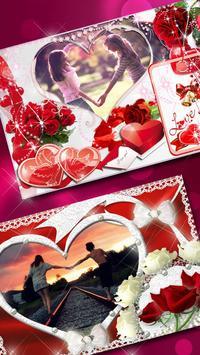 Molduras para Fotos Amor 💕 Colagem Romantica imagem de tela 3