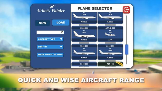 Airlines Painter screenshot 2