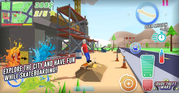 Dude Theft Wars screenshot 2
