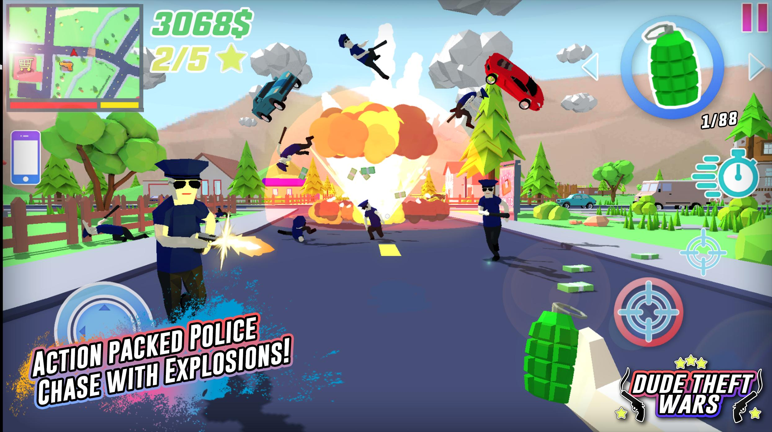 Dude Theft Wars for Android - APK Download