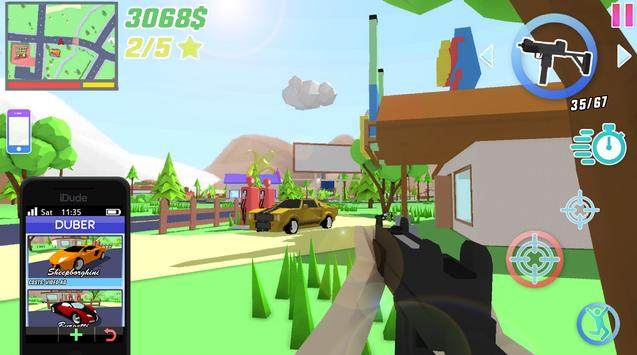 Dude Theft Wars screenshot 14
