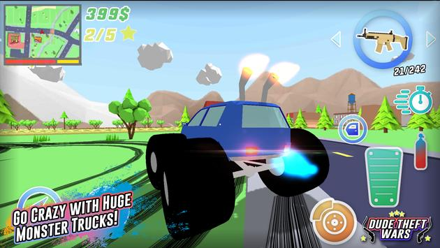 Dude Theft Wars screenshot 15