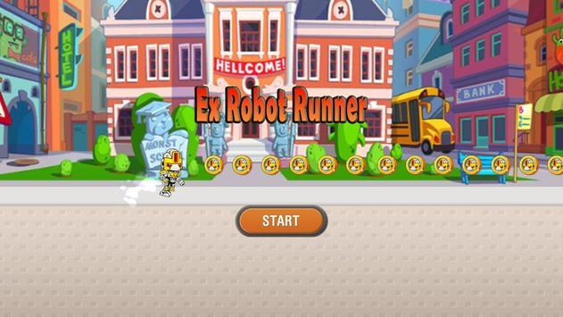 Ex Robot Runner poster