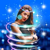 Light Crown Editor 👑 Neon Glitter Photo Effects icon
