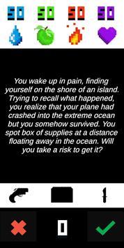 Decision To Survive - Island Text Adventure screenshot 2