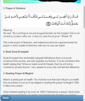 Prayers and Practices To Get Rich Quick screenshot 5