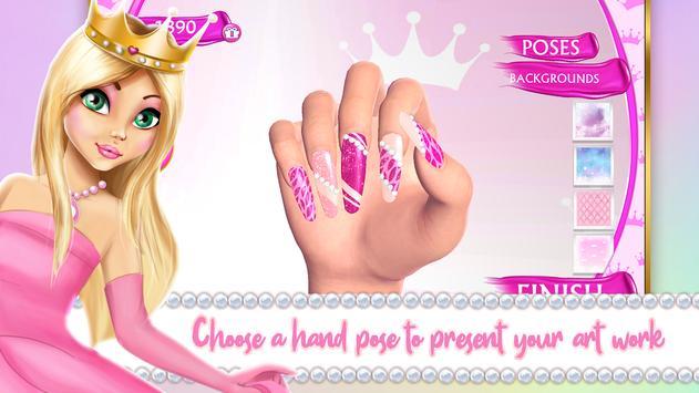 Princess Nail Makeover Games screenshot 4