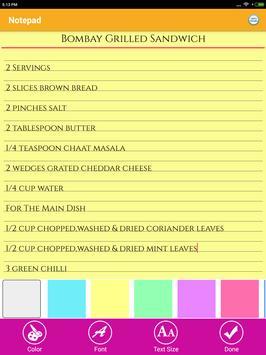 Cool Memo & To Do Tasks Colourful Reminder Notes screenshot 12
