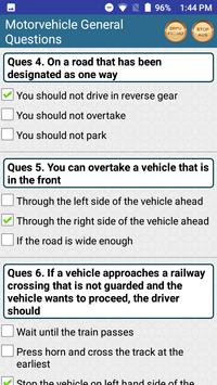 Driving Licence Practice Tests screenshot 5