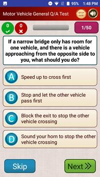 Driving Licence Practice Tests screenshot 2