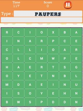 Word Search Speed Puzzle: Characters Find Puzzles screenshot 8
