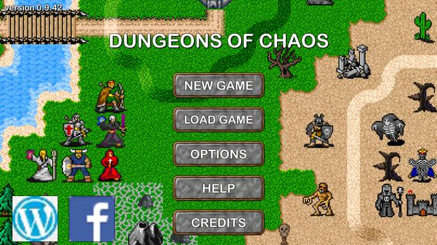 Dungeons of Chaos DEMO poster