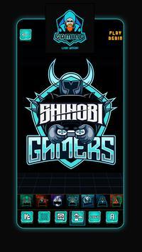 Ứng Dụng Tạo Logo Team Game: Thiết Kế Logo Đẹp ảnh chụp màn hình 1