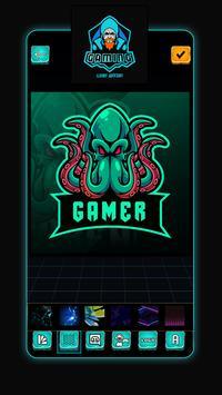 Ứng Dụng Tạo Logo Team Game: Thiết Kế Logo Đẹp ảnh chụp màn hình 3