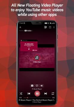 पाई म्यूजिक प्लेयर – MP3 और YouTube म्यूजिक के लिए स्क्रीनशॉट 1