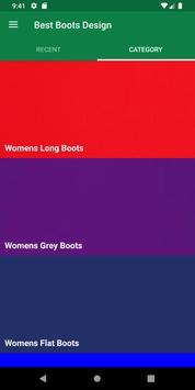 Best Boots Design screenshot 1