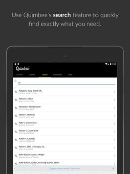 Quimbee screenshot 9