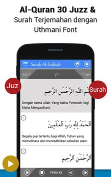Al Quran Bahasa Melayu MP3 screenshot 1