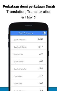 Al Quran Bahasa Melayu MP3 screenshot 6