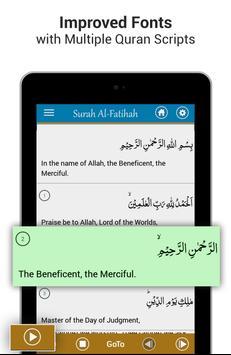 Al Quran MP3 - Quran Reading® capture d'écran 9