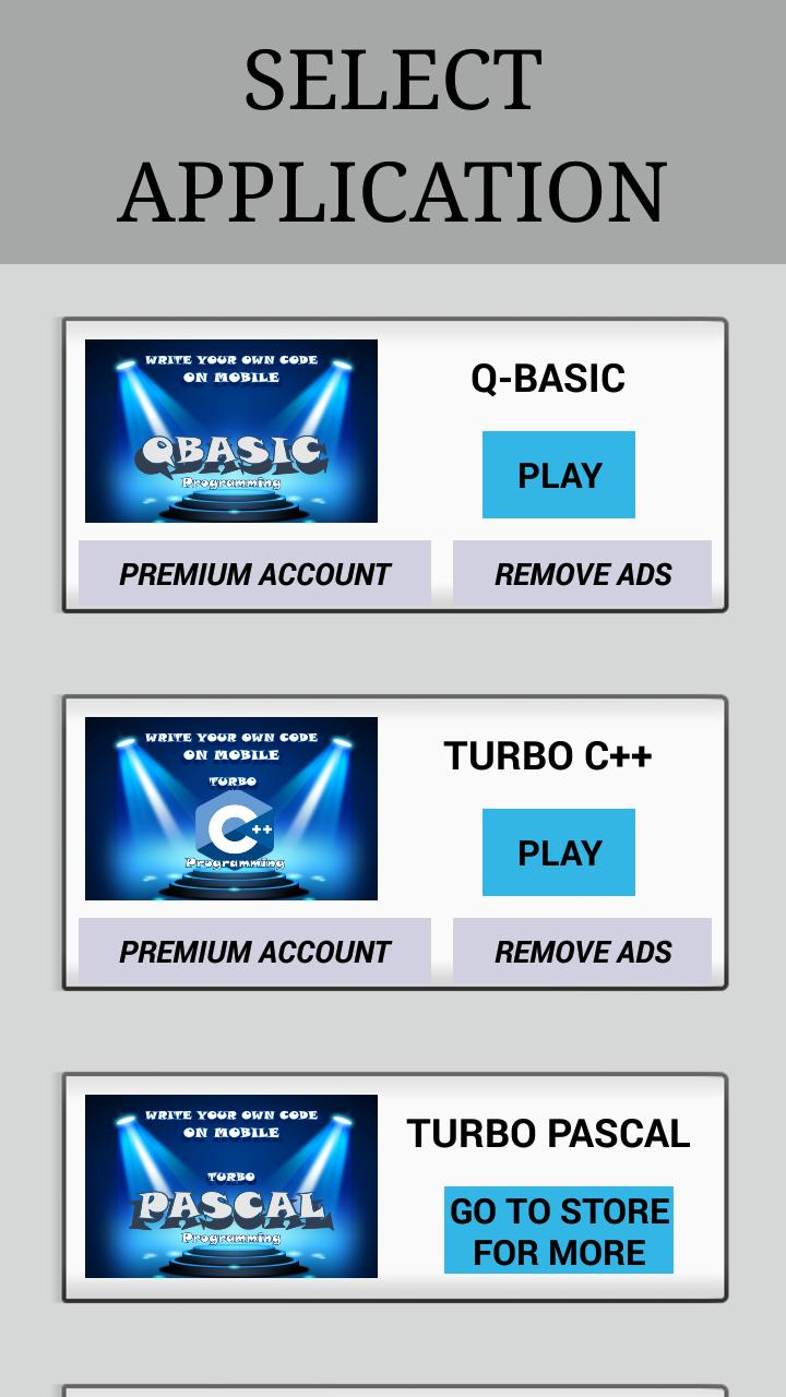 QBASIC for Android - APK Download