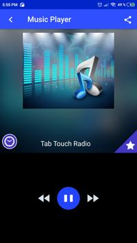 Tab Touch Radio live App AU free listen poster