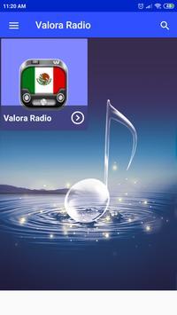 valora radio Online App MX free listen screenshot 1