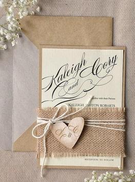 Rustic Wedding Invitation Cards screenshot 3