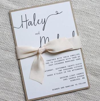 Rustic Wedding Invitation Cards screenshot 2