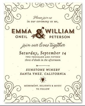 Rustic Wedding Invitation Cards screenshot 4