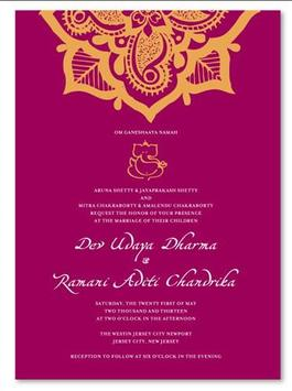 Rustic Wedding Invitation Cards screenshot 5