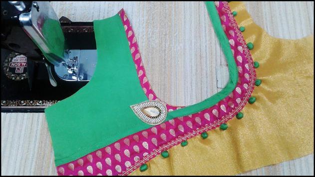 Blouse Cutting & Stitching Tailoring Course Videos screenshot 9