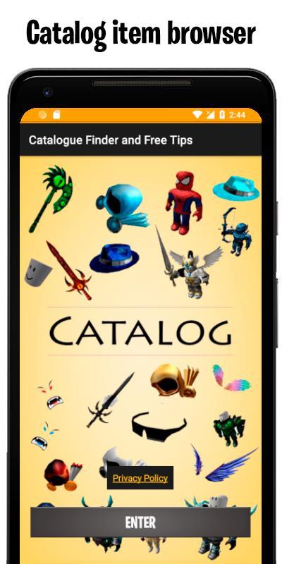Roblox Catalog Apk