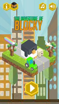 Blocky Mission Run screenshot 2