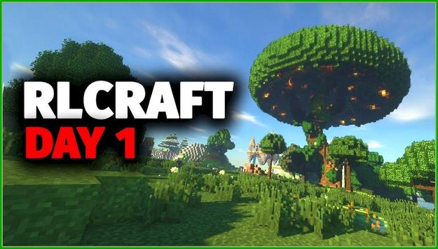 RLCraft mod for MCPE poster