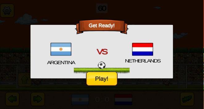 Head Soccer Game screenshot 1