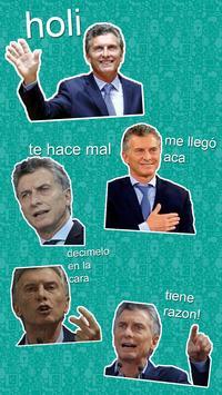 Macri Stickers Memes (WAStickerApps) - Oficial screenshot 4