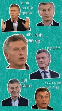 Macri Stickers Memes (WAStickerApps) - Oficial screenshot 5