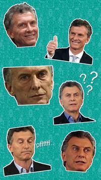 Macri Stickers Memes (WAStickerApps) - Oficial screenshot 6