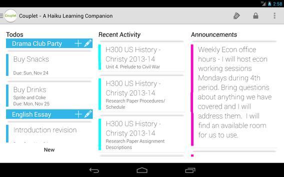 Couplet for Haiku Learning screenshot 11