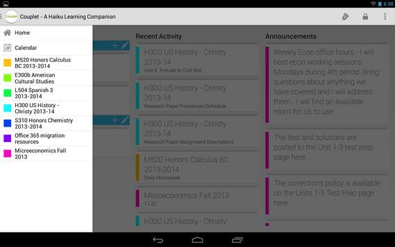 Couplet for Haiku Learning screenshot 8