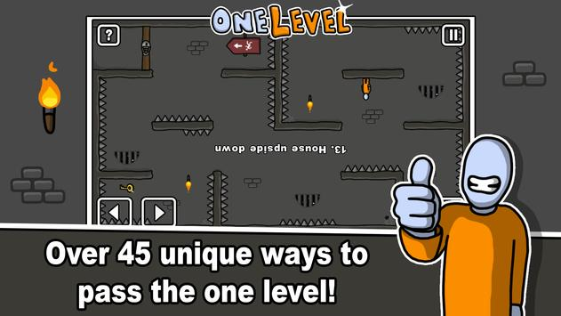 One Level: Stickman Jailbreak screenshot 6