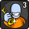 One Level 3: Stickman Jailbreak ikona