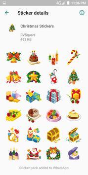 Christmas Stickers скриншот 1