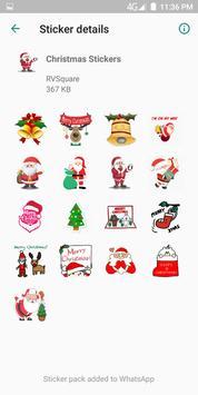 Christmas Stickers скриншот 4