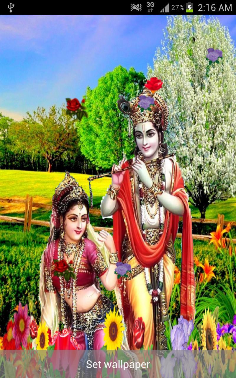 Radha Krishna 3DLive Wallpaper安卓下载 ...